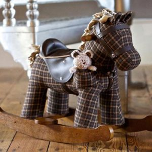 Little Bird Told Me – Rufus and Ted Rocking Horse