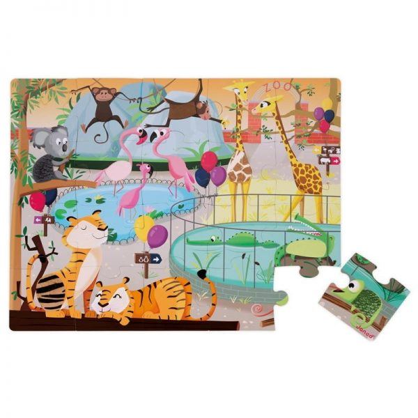 tactile zoo puzzle 2