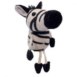 The Puppet Company Zebra Finger Puppet