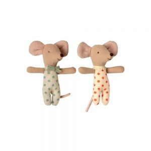Maileg Twin Mice in Matchbox