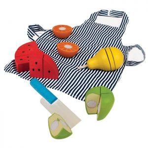 Bigjigs Cutting Fruit Chef Set