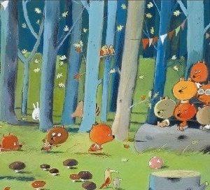 Djeco Forest Friends Jigsaw Puzzle