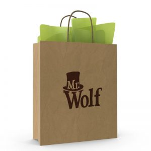 FREE Mr Wolf Party Bags, Tissue Wrap & Tags