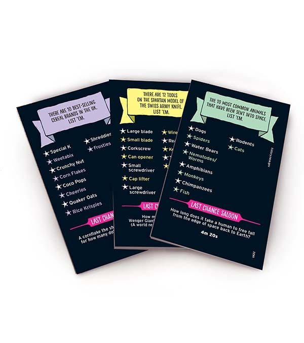 mr lister cards
