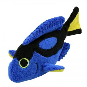 The Puppet Company Blue Tang Fish Finger Puppet