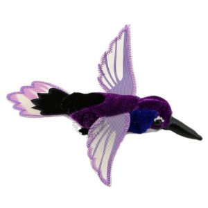 The Puppet Company Purple Hummingbird Finger Puppet
