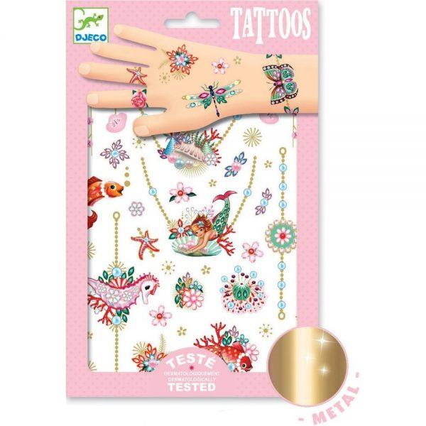 Djeco Tattoos Fionas Jewels