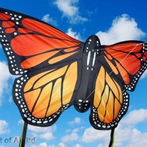 Spirit of Air Small Red Monarch Butterfly Kite