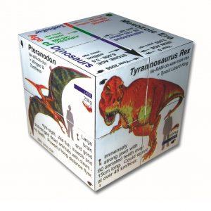 Zoobookoo Dinosaur Cube Book