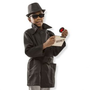 Melissa & Doug Spy Role Play Costume Set