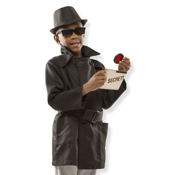 spy role play costume set
