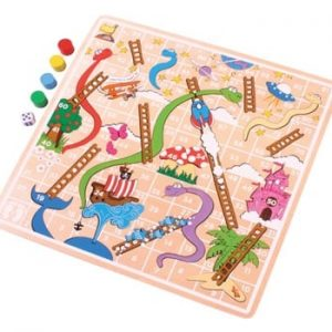 Bigjigs Wooden Snakes and Ladders