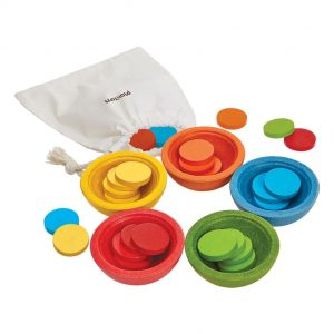 Plan Toys Sort and Count Cups