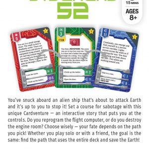 Gamewright Cardventures Stowaway S2