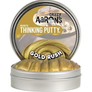 Crazy Aaron's Gold Rush Magnetic Thinking Putty