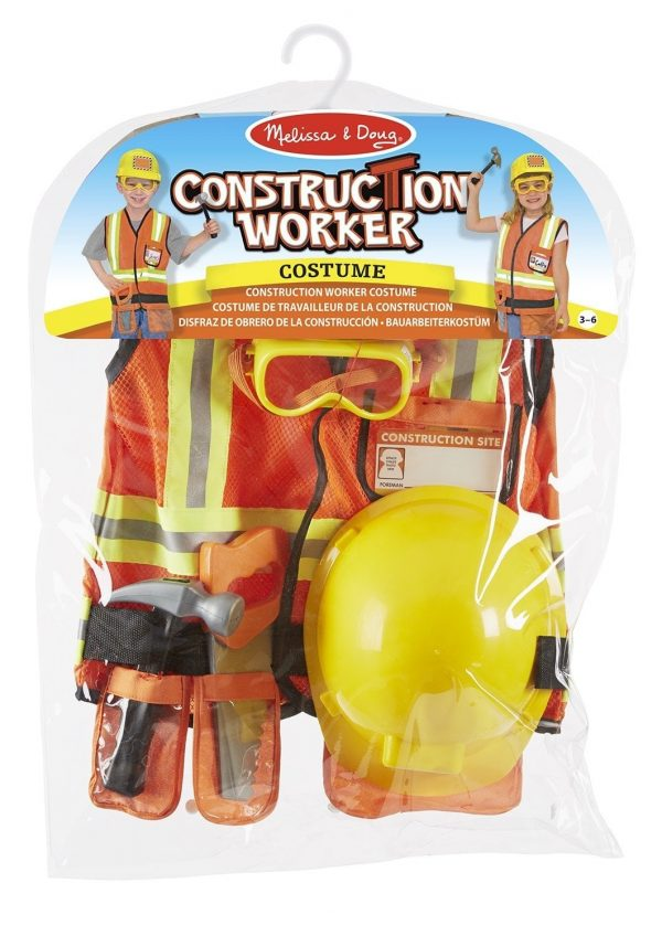 Melissa and Doug Construction Worker set in packaging