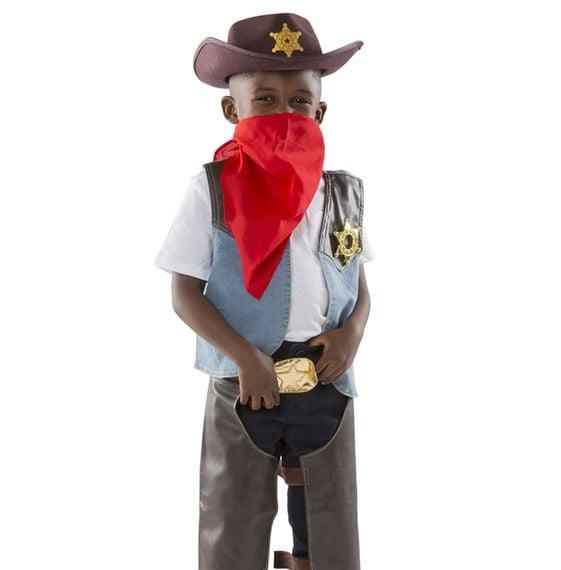 Melissa and doug cowboy costume boy