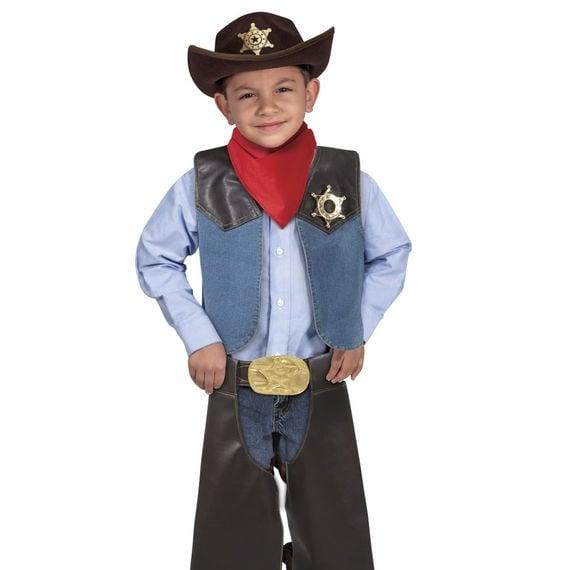 Melissa and doug cowboy costume boy 2