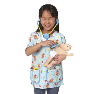 Melissa & Doug Pediatric Nurse Role Play Costume Set
