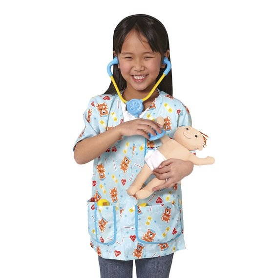 Melissa and Doug Pediatric Nurse Set Little Girl