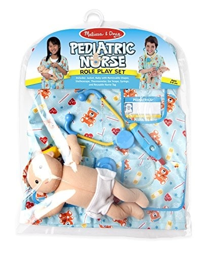 Melissa and Doug Pediatric Nurse Set Packaging