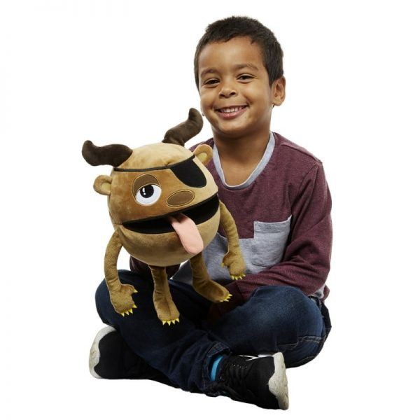 The Puppet Company Brown Monster with Boy