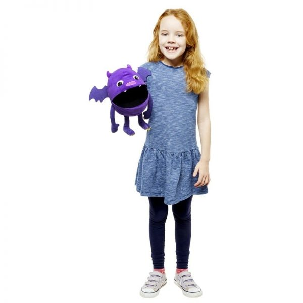 The Puppet Company Purple Monster with Girl