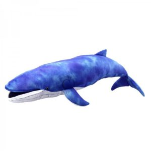 The Puppet Company Large Blue Whale Hand Puppet