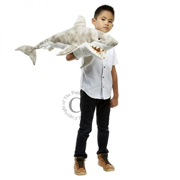 The Puppet Company Large Shark with Boy