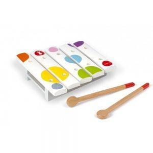Janod Confetti Wooden Mini Xylophone