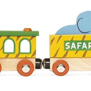 Janod Story Safari Train