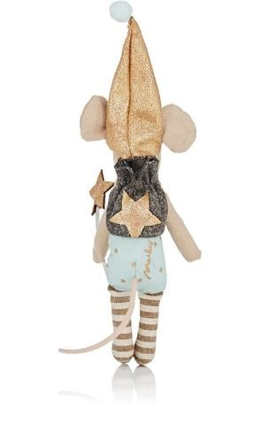 Maileg tooth fairy boy mouse back