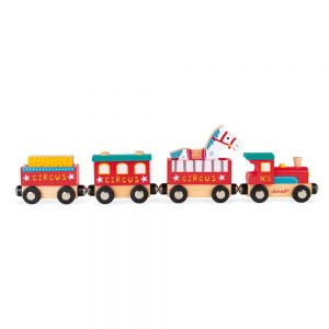 Janod Story Circus Train