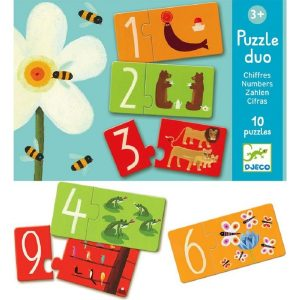 Djeco Puzzle Duo – Numbers