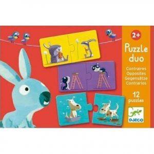 Djeco Puzzle Duo – Opposites