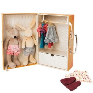 Moulin Roty Little Wardrobe Suitcase