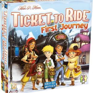 Ticket To Ride – First Journey