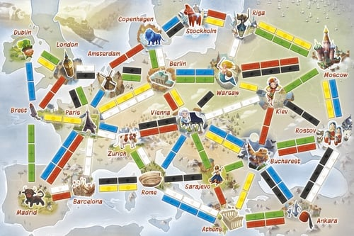 ticket to ride first journey board