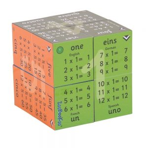 Zoobookoo Multiplication Tables Cube Book