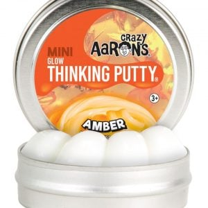 Crazy Aaron's Amber Glow Mini Thinking Putty