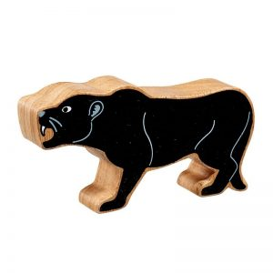 Lanka Kade Wooden Animals – Panther
