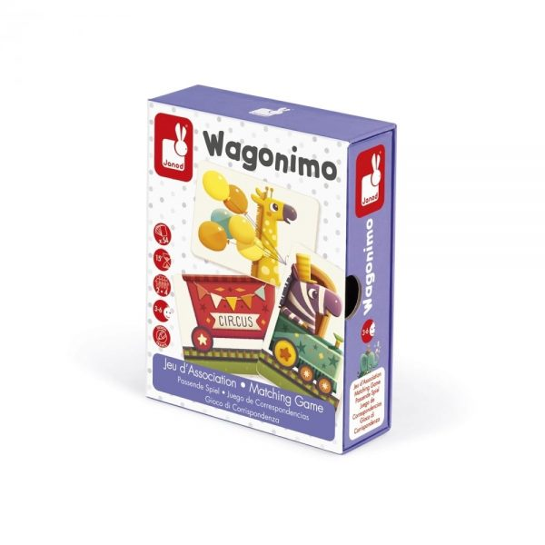 Janod Wagonimo in Packaging