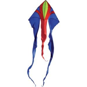 Spirit of Air Junior Delta Flowtail Kite BLUE