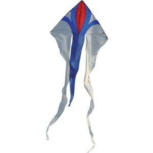 Spirit of Air Junior Delta Flowtail Kite WHITE