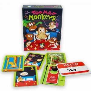 Gamewright Too Many Monkeys Card Game