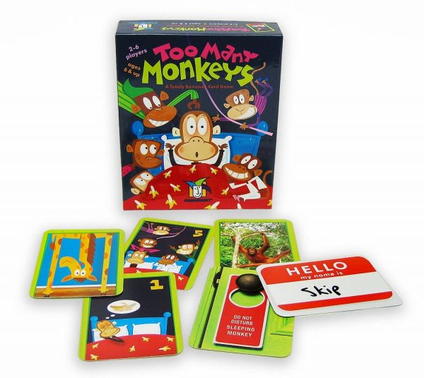 too many monkeys box and contents