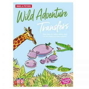 Scribble Down Transfers – Wild Adventures at the Waterhole