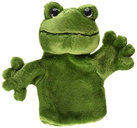 carpet frog puppet