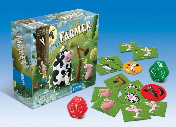 granna games super farmer box and contents displayed