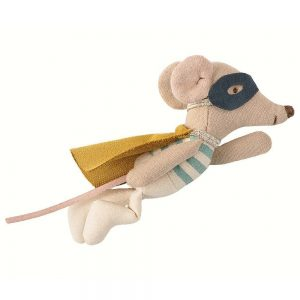 Maileg Super Hero Mouse in Tin